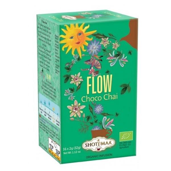 Ceai Shotimaa Sundial - Flow - choco chai bio 16dz