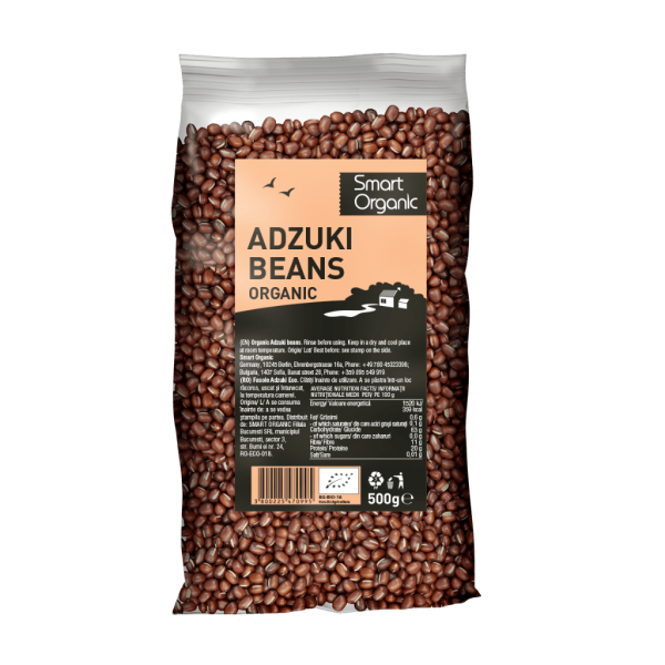 Fasole Azuki bio 500g