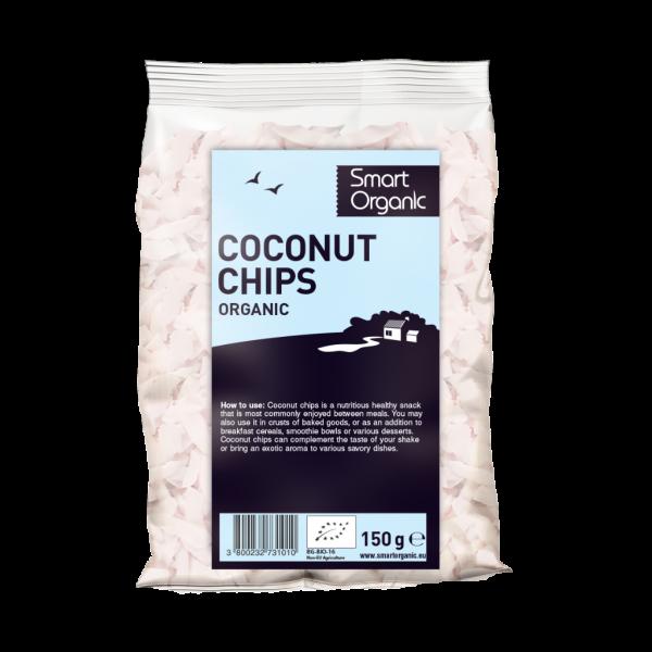 Fulgi raw de cocos bio 150g