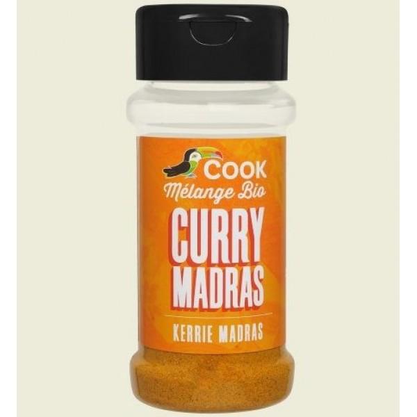 Mix de condimente Madras Curry bio 35g