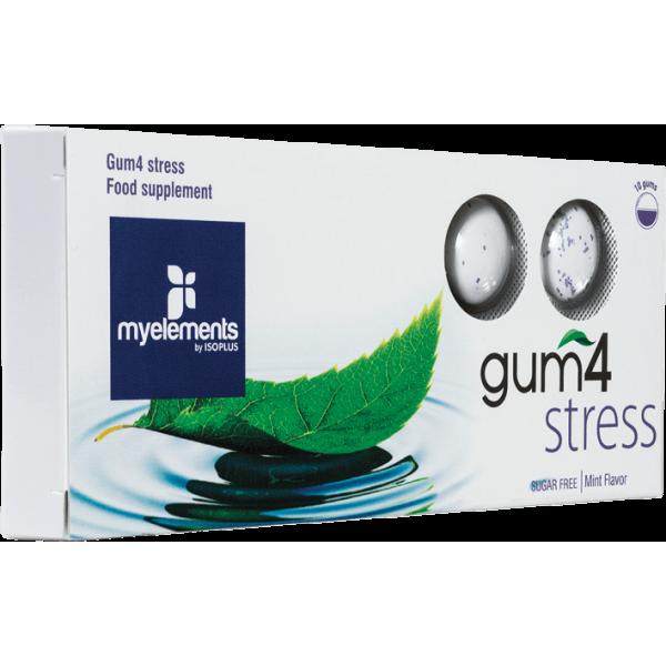 myelements GUM4 STRESS - Guma De Mestecat Fara Zahar 10buc