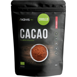Niavis Cacao Criollo Pulbere RAW Ecologica/Bio 250g