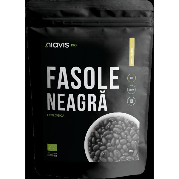 Niavis Fasole Neagra Ecologica/BIO 500g