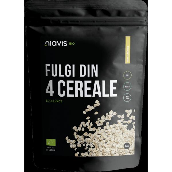 Niavis Fulgi din 4 Cereale Ecologice/BIO 350g