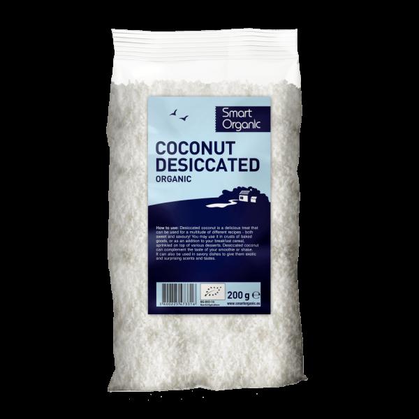 Nuca de cocos macinata bio 200g