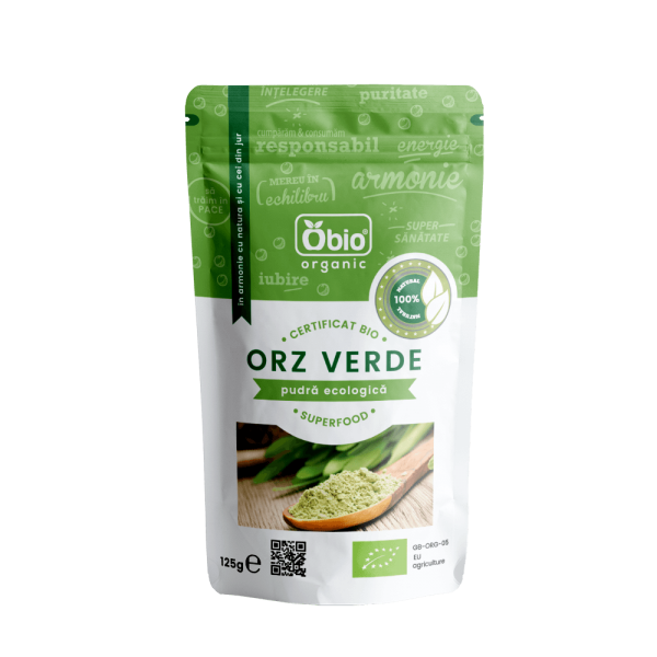 Orz verde pulbere bio 125g