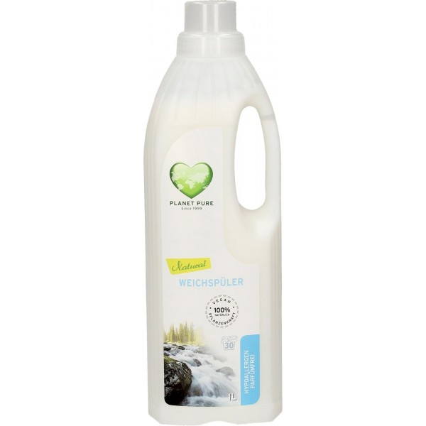 Planet Pure Balsam bio pentru rufe hipoalergen -fara parfum- 1L