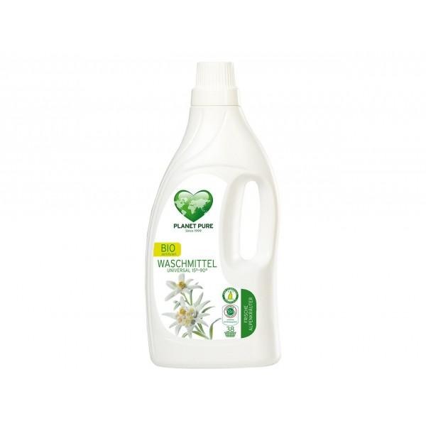 Planet Pure Detergent bio de rufe - flori de munte - 1.55L