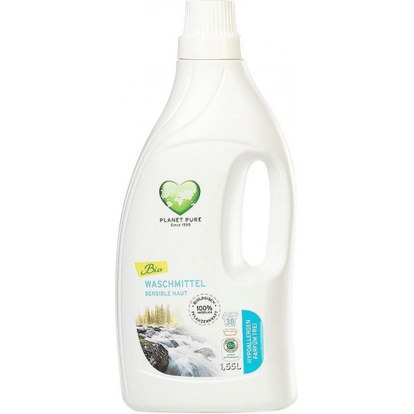 Planet Pure Detergent bio de rufe hipoalergenic -fara parfum- 1.55L
