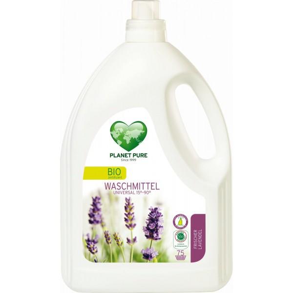 Planet Pure Detergent bio de rufe - lavanda - 3 L
