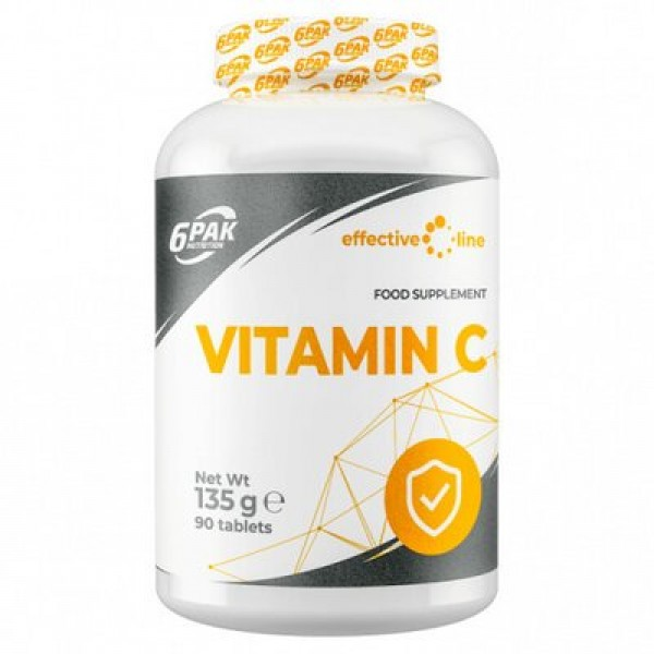 6Pak Nutrition Vitamina C 1000mg, 90 tablete