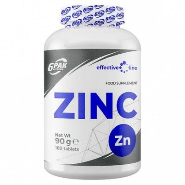 6Pak Nutrition Zinc 15mg, 180 tablete