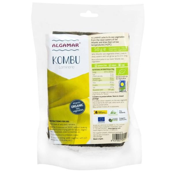 Alge kombu raw bio 50g