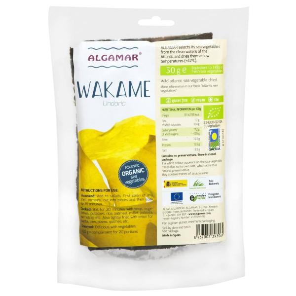 Alge wakame raw bio 50g