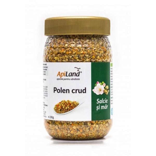 Apiland Polen crud de salcie și măr 230g