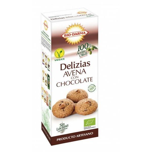 Bio Darma Biscuiti din ovaz cu ciocolata bio 125g