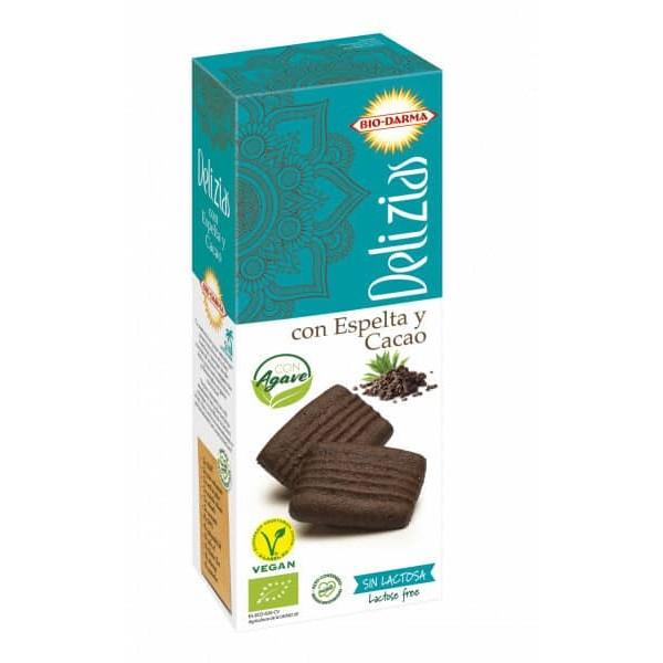 Bio Darma Biscuiti din spelta cu cacao, indulciti cu agave bio 135g