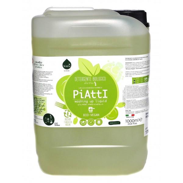 Biolu Detergent ecologic pentru spalat vase 5L
