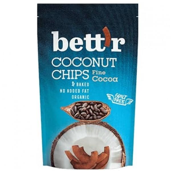 Chips de cocos eco cu cacao 70g