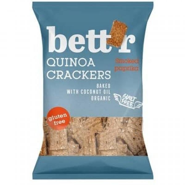 Crackers cu quinoa si boia fara gluten eco 100g, Bettr