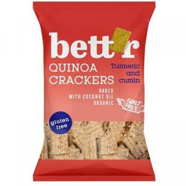 Crackers cu quinoa si turmeric fara gluten eco 100g