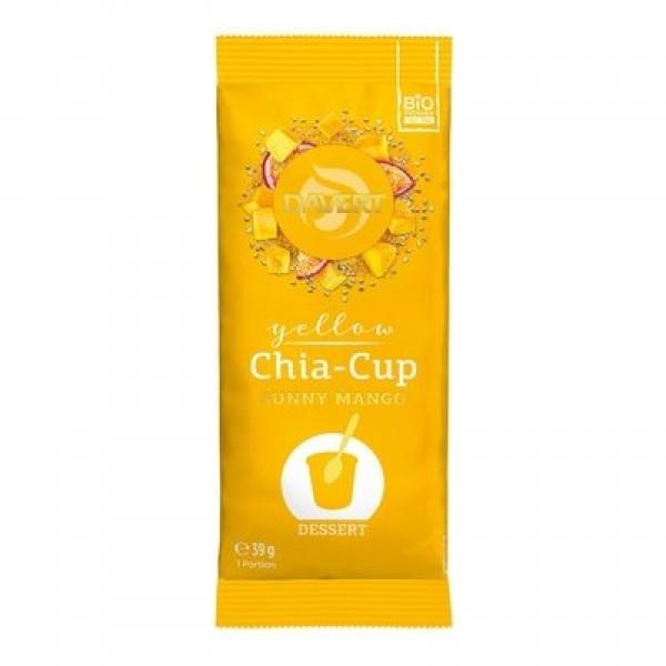 Davert Chia cup Sunny Mango eco 39g