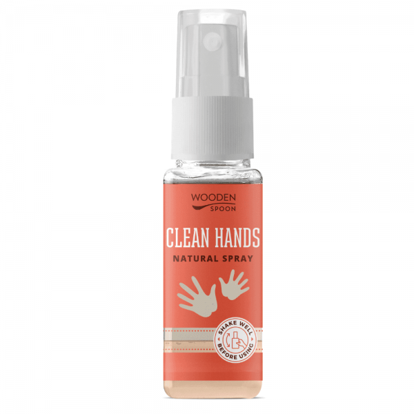 Igienizant de maini natural 50ml, Wooden Spoon