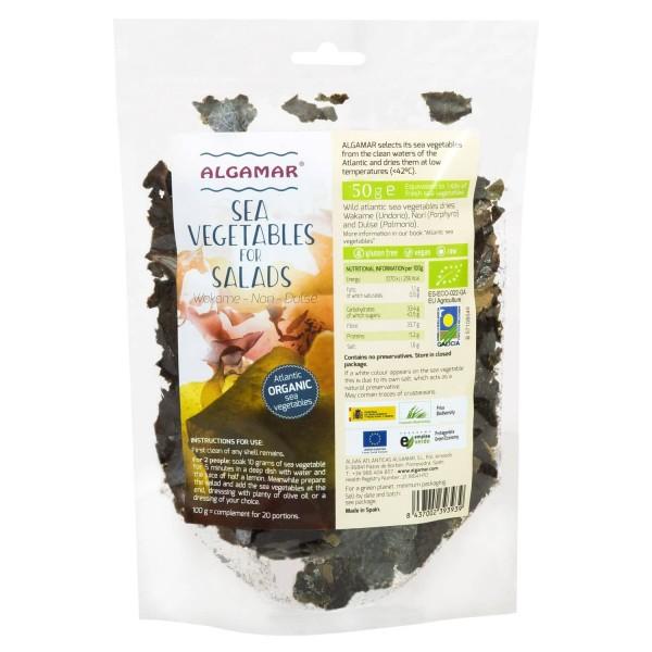 Mix alge marine pentru salata eco 50g Algamar