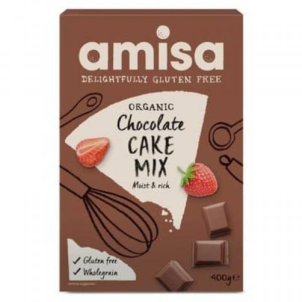 Mix pentru tort cu ciocolata fara gluten bio 400g
