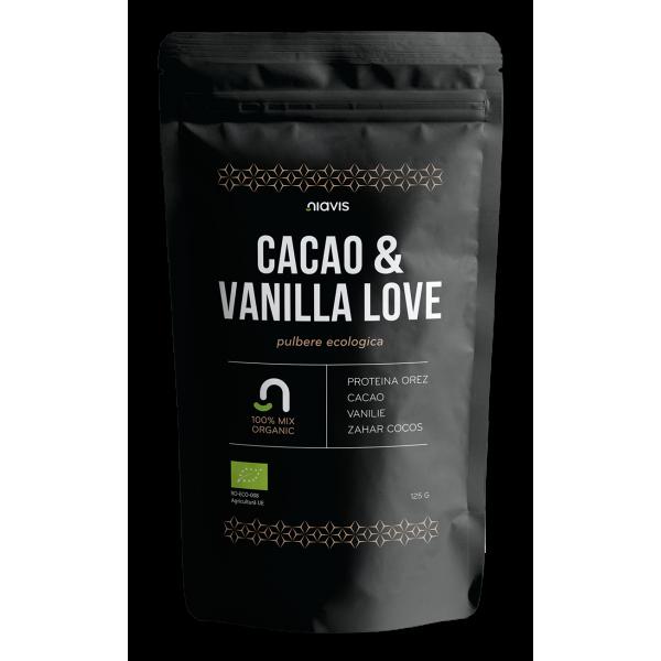 Niavis Cacao & Vanilla Love - Mix ecologic 125g