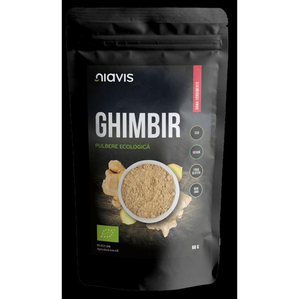 Niavis Ghimbir pulbere Ecologica/BIO 60g