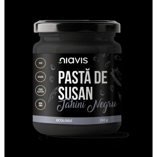 Niavis Pasta de Susan (Tahini Negru) Ecologica/BIO 250g
