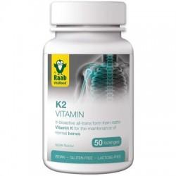 Raab Vitamina K2 1500mg, 50 tablete vegane