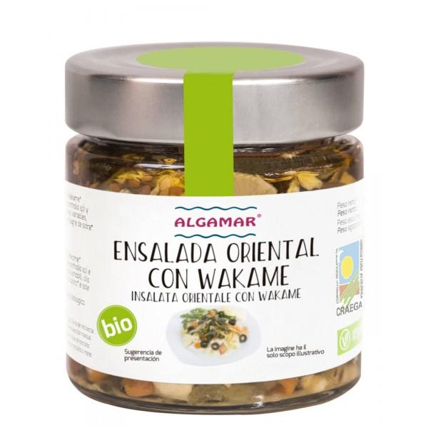 Salata orientala cu alge wakame eco 190g