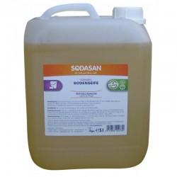 Sodasan Solutie bio pentru podele cu santal 5L