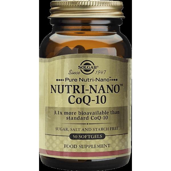 Solgar NUTRI-NANO CoQ-10 3.1x 50 cps moi