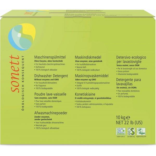 Sonett Detergent ecologic praf pt. masina de spalat vase 10kg