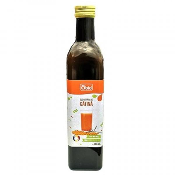 Suc de catina 100% natural, 500ml, Obio