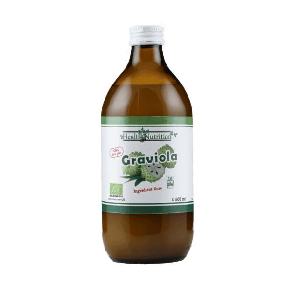 Suc de graviola bio 500ml, Health Nutrition