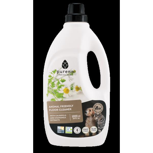 Purenn Detergent Fara Miros pentru Pardoseli cu Extracte de Musetel si Galbenele ECO/BIO 1L