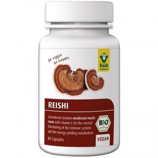 Reishi extract bio 400mg, 80 capsule vegane