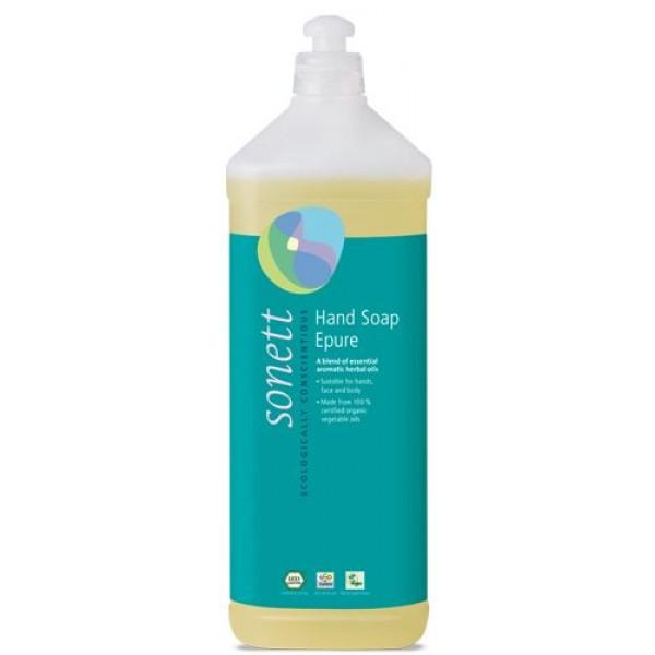 Sapun lichid ecologic Epure 1L, Sonett