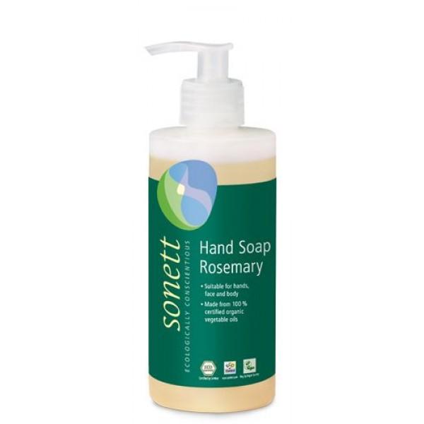 Sapun lichid ecologic Rozmarin 300ml, Sonett