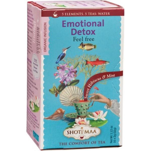 Ceai Shotimaa Elements - Emotional Detox bio 16dz