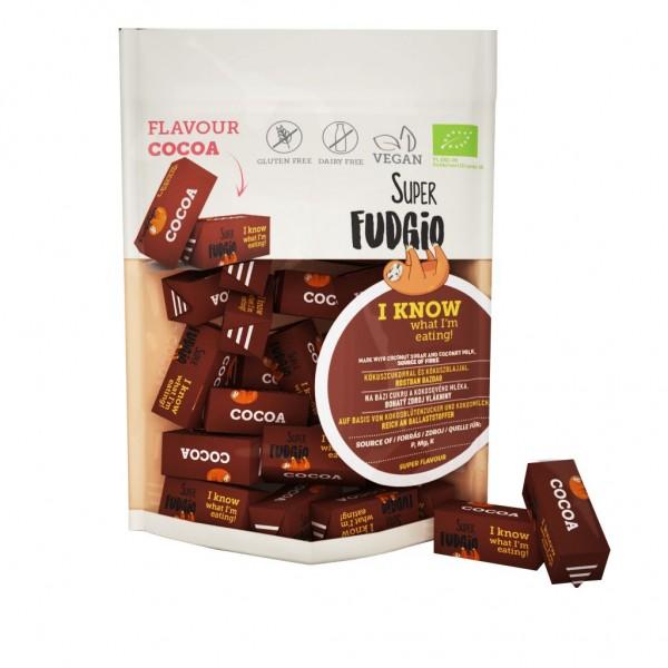 Caramele bio - aroma cacao 150g Super Fudgio