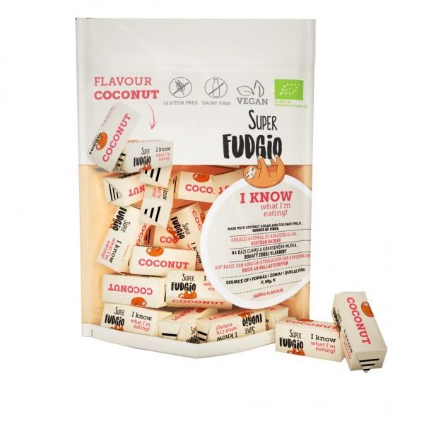Super Fudgio Caramele bio - aroma cocos 150g