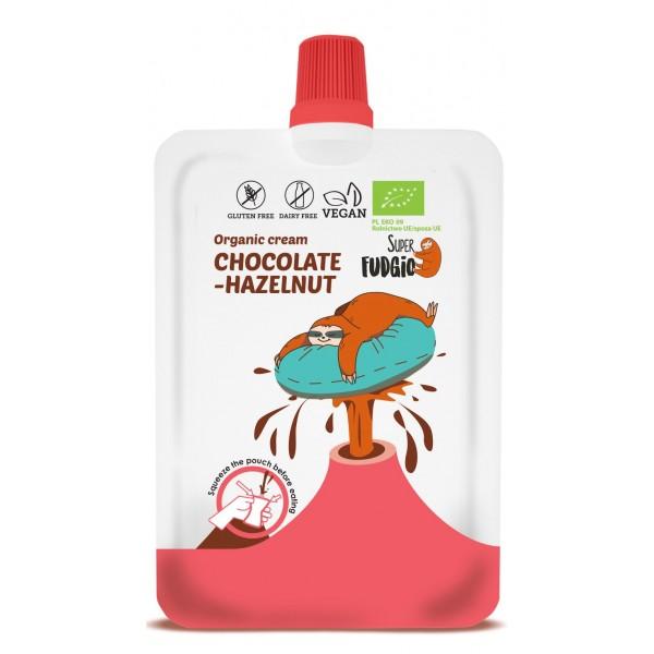 Super Fudgio Crema de ciocolata si alune de padure bio 50g