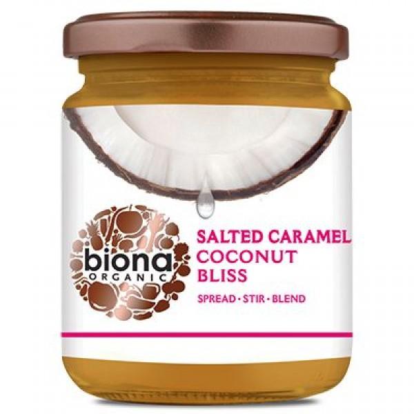 Unt de cocos salted caramel bliss bio 250g